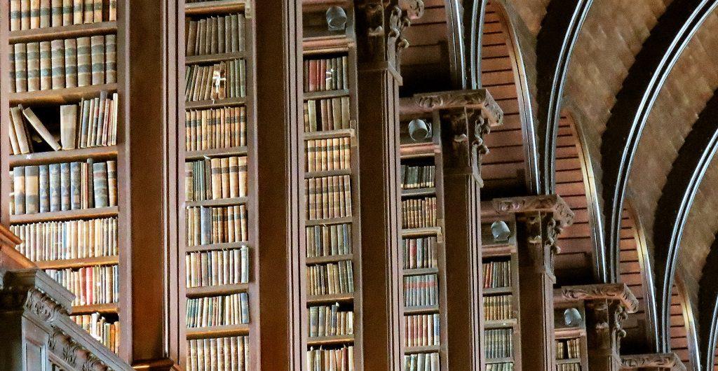 Geruch als Trigger - hier am Beispiel der Bibliothek des Trinity College Dublin